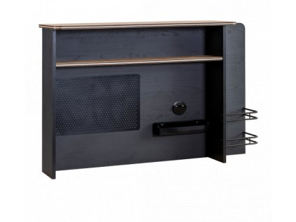 Nástavec na písací stôl Black