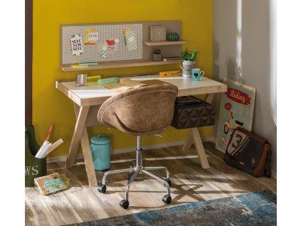 Študentský písací stôl Lofter