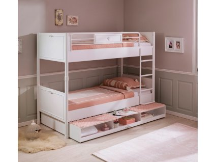 patrova postel do pokoje pro divky romantica