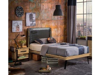 postel do studentskeho pokoje 120x200cm