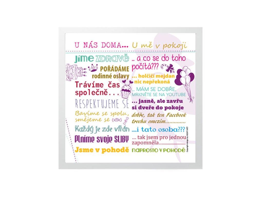 Plakát pro teenagerky