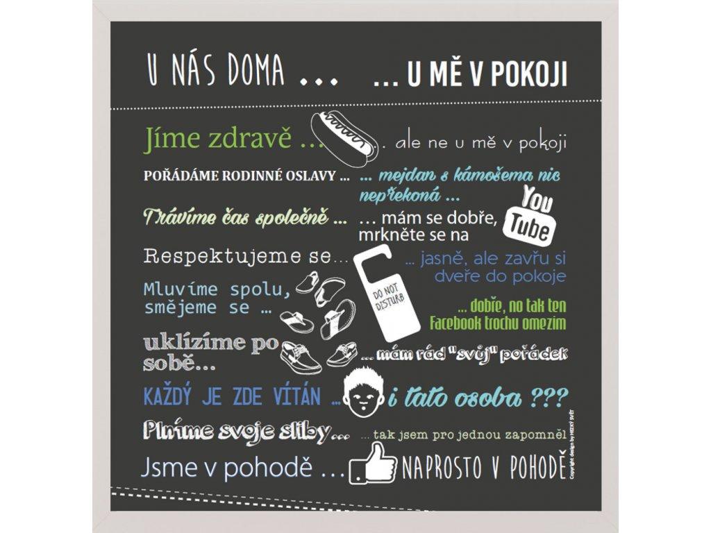 Plakát pro teenagery