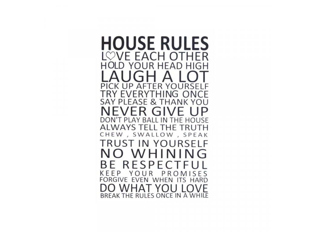 samolepa houserules