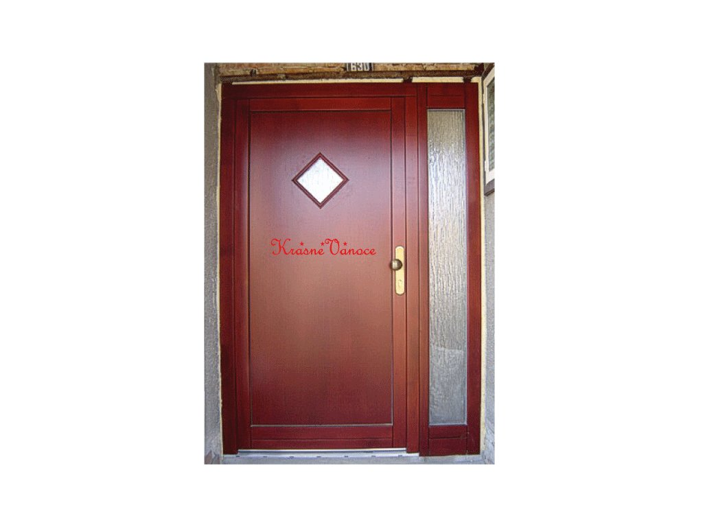 Dveře Krásné vánoce