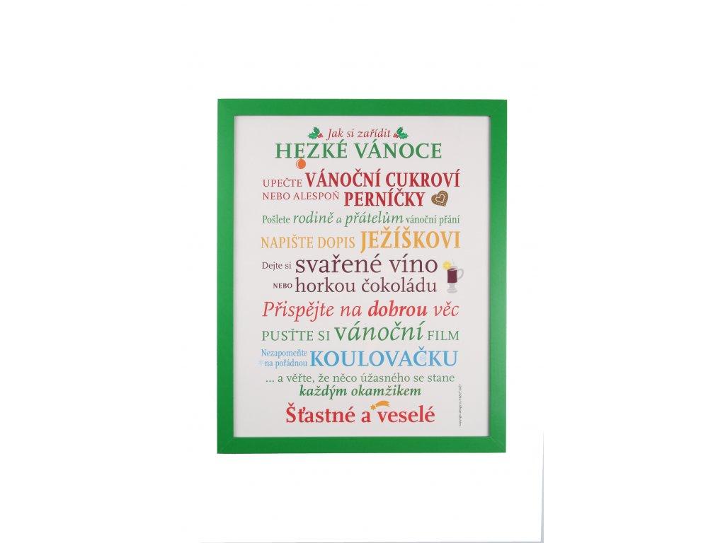 Plakát - Vánoční