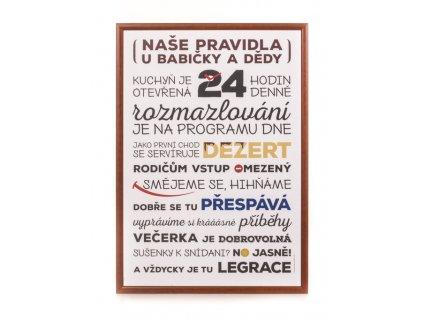 Pravidla u babicky orez full