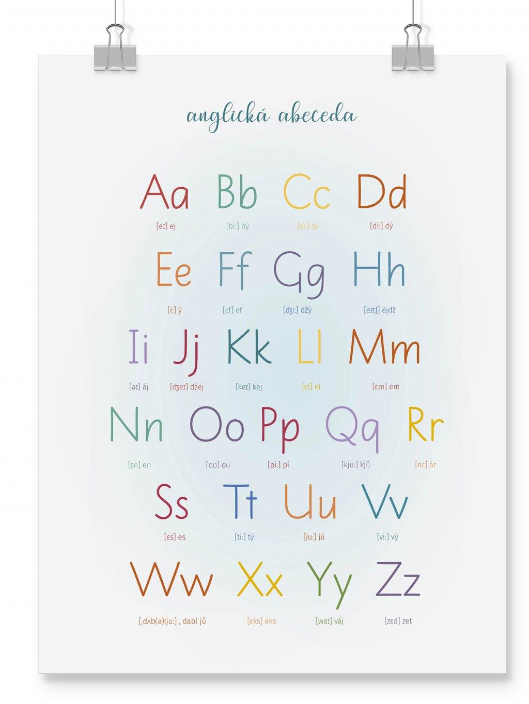 poster wall mockup abeceda AJ