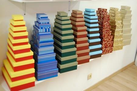 Dárkové krabičky všech druhů, barev a rozměrů