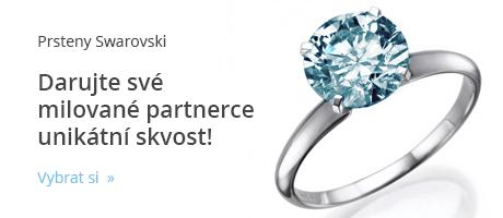 Prsteny s krystaly Swarovski