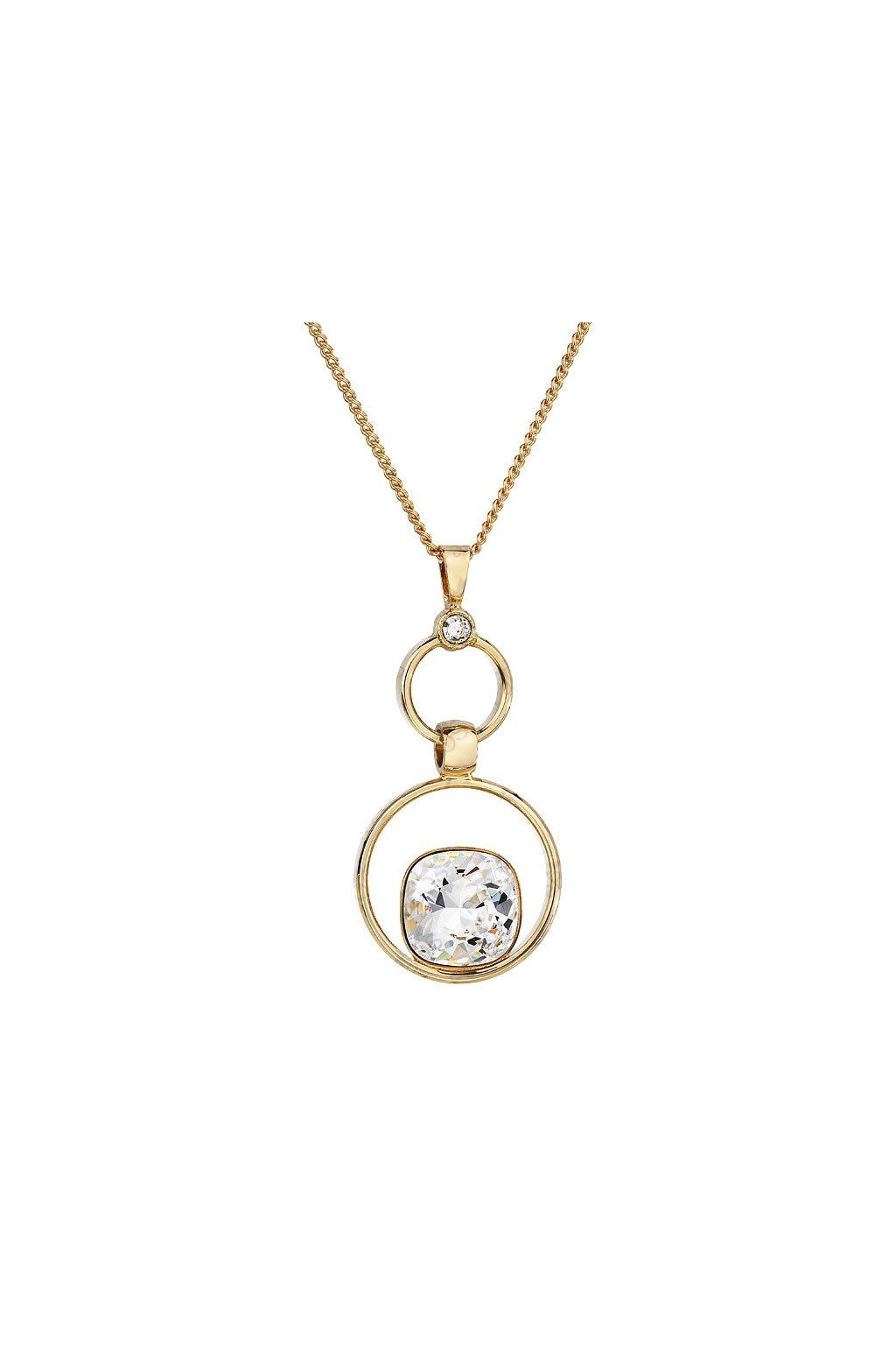 Dámský náhrdelník ve žlutém zlatě