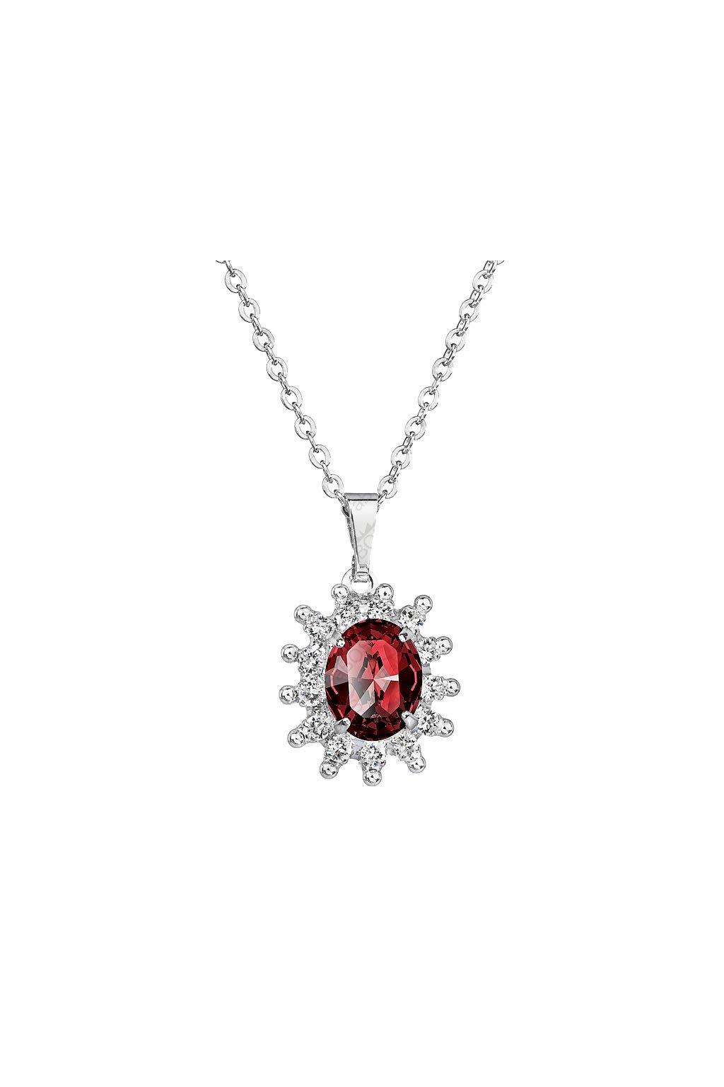 Romantický náhrdelník Swarovski