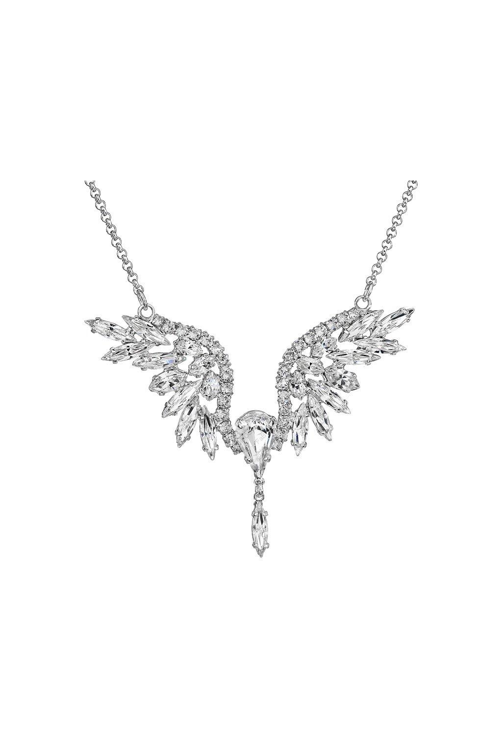 Náhrdelník malý anděl crystal Swarovski