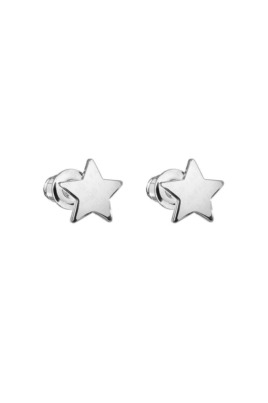 Náušnice Hvězda dívčí Swarovski