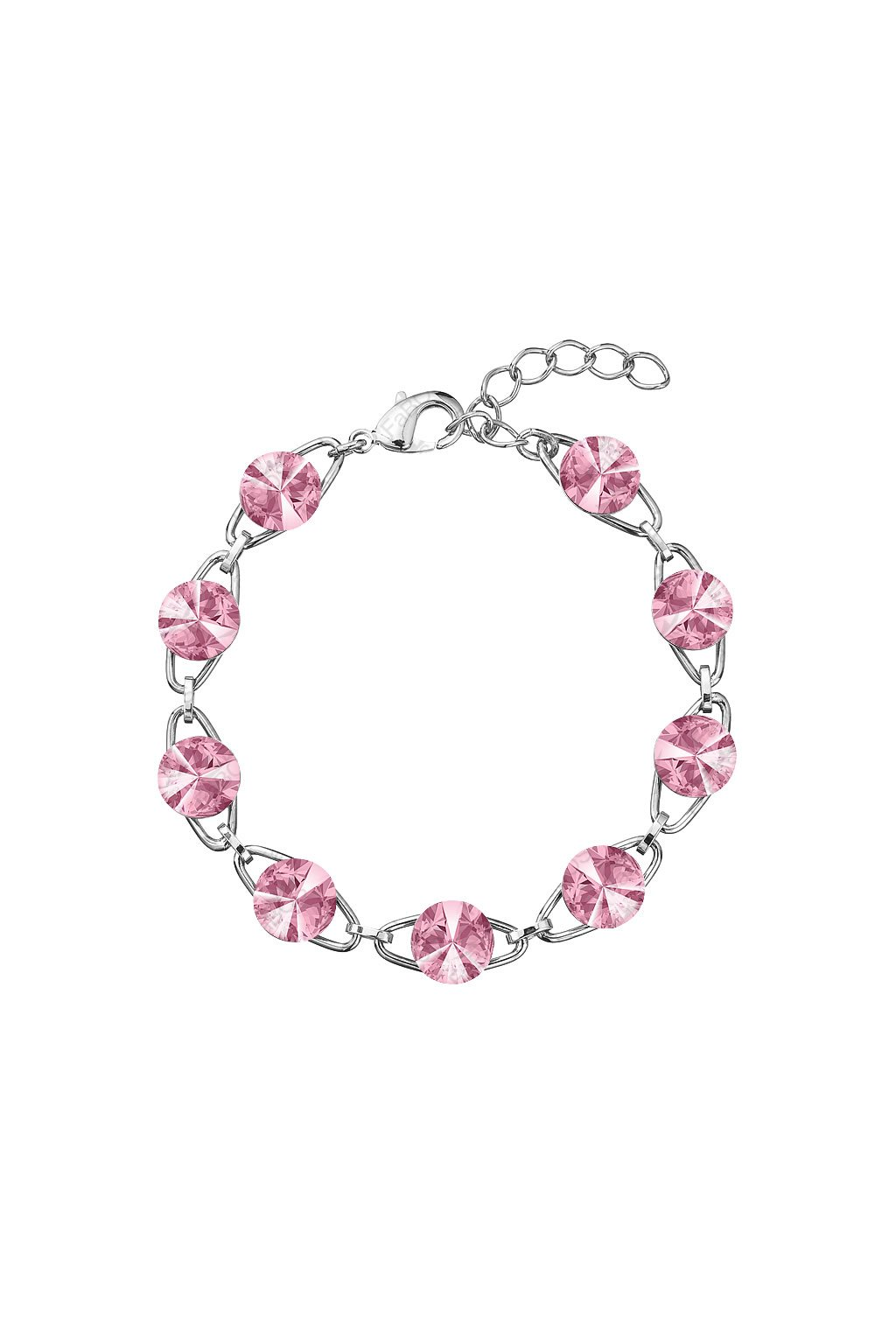 Náramek Rivoli 8mm Light Rose Swarovski