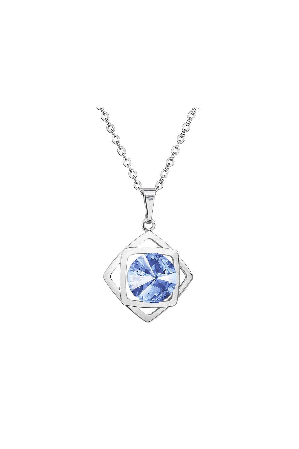 Náhrdelník Magický čtverec Light Sapphire SWAROVSKI