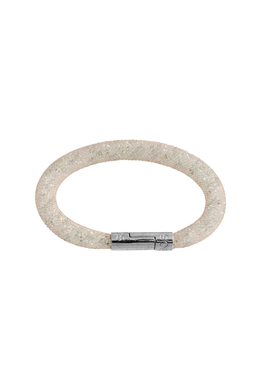 Náramek Crystal Tube 19 cm meruňková Swarovski