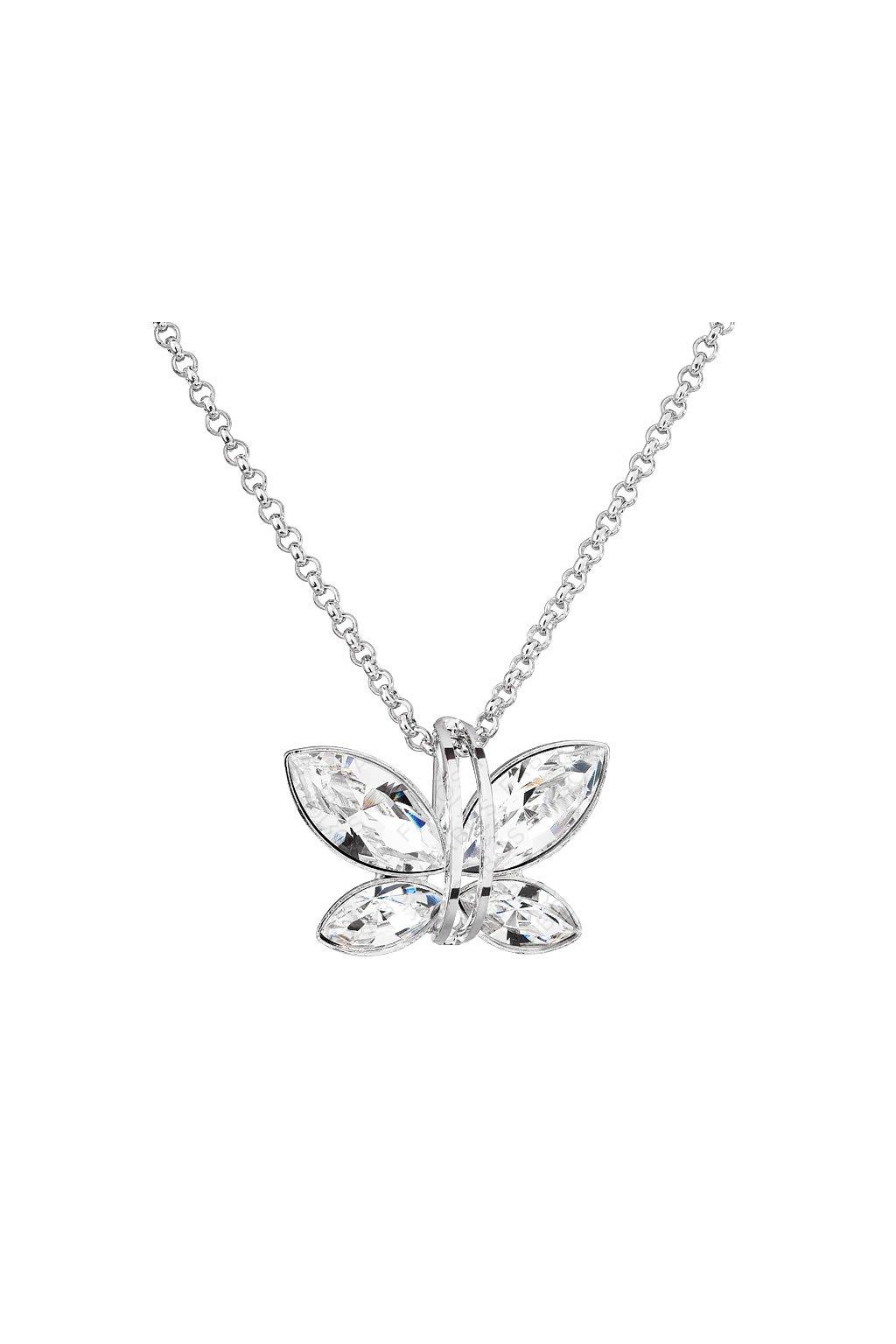 Náhrdelník Motýlek Crystal SWAROVSKI
