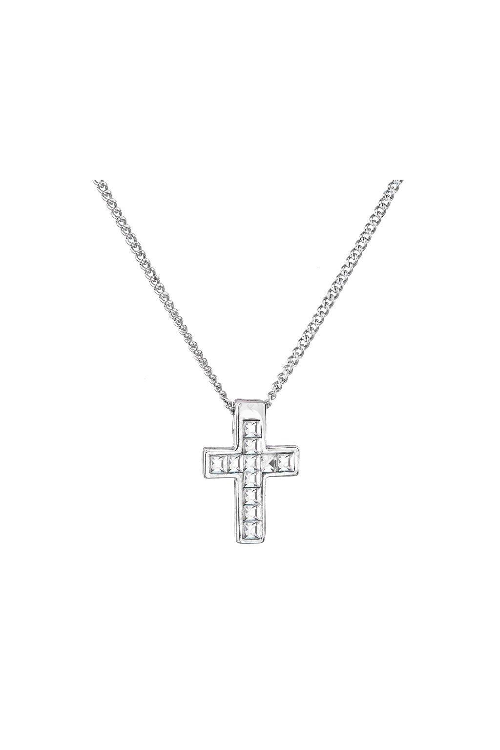 Náhrdelník Malý křížek Crystal SWAROVSKI