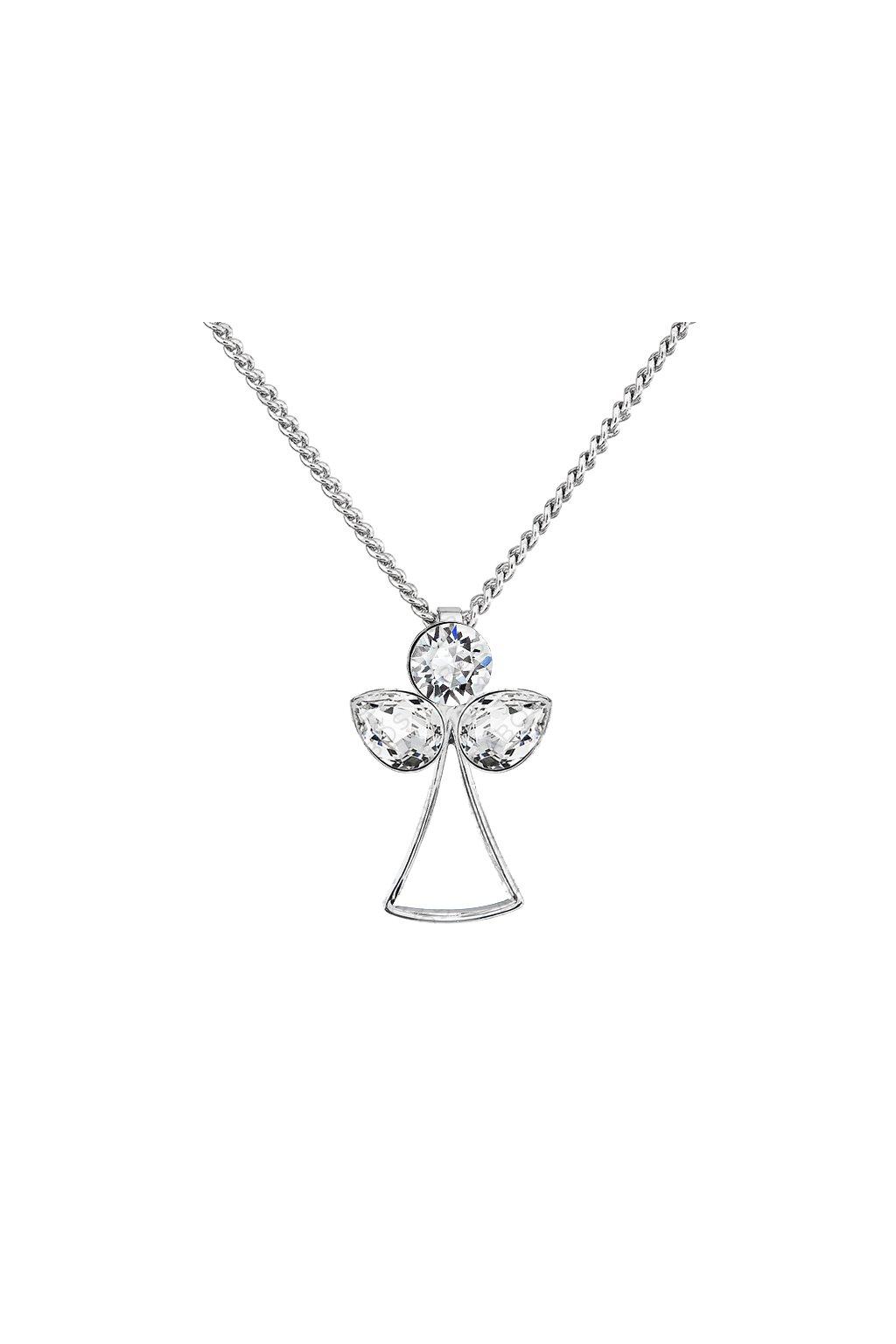 Náhrdelník Anděl života Crystal