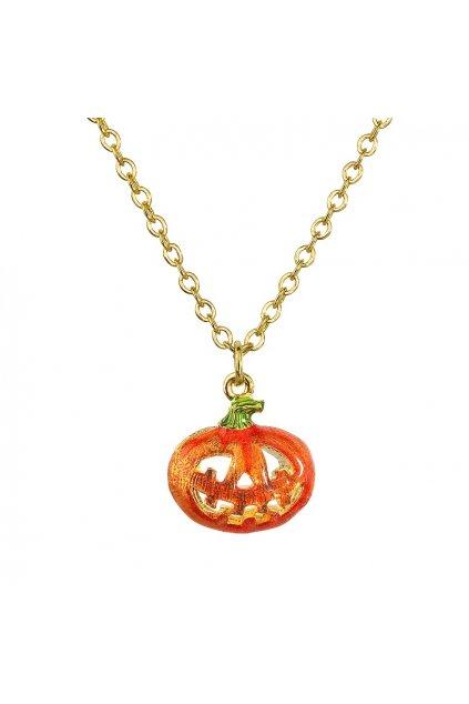 Náhrdelník Halloween dýně FABOS