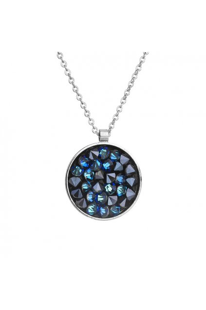 Náhrdelník Crystal rocks Bermuda Blue SWAROVSKI