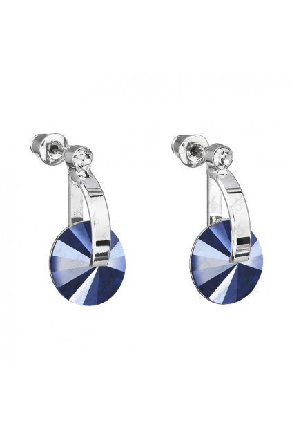 Náušnice D-Rivoli 12mm Royal Blue SWAROVSKI