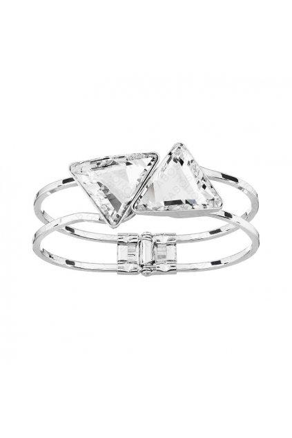Náramek Trojúhelníky Crystal SWAROVSKI