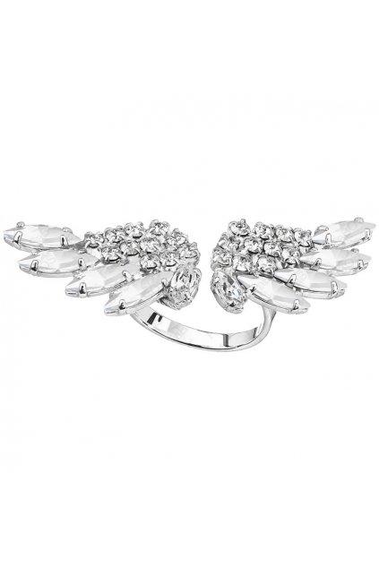 Prsten Andělská křídla Crystal SWAROVSKI
