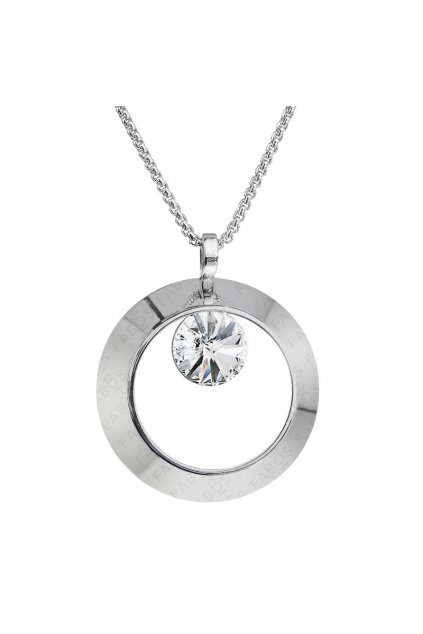Náhrdelník Ring s rivoli Crystal SWAROVSKI