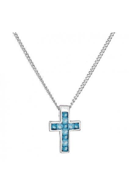 Náhrdelník Malý křížek Indicolite SWAROVSKI