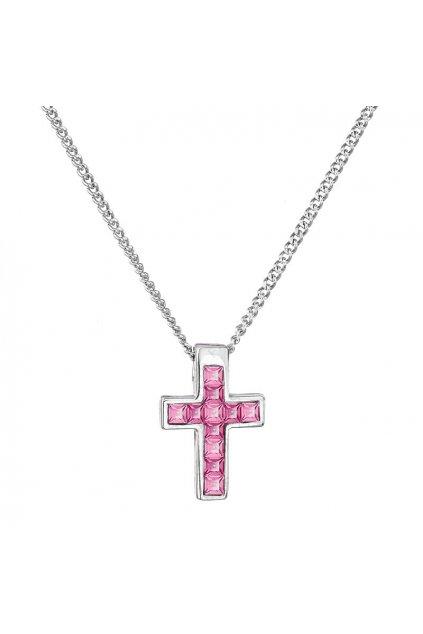Náhrdelník Malý křížek Rose SWAROVSKI