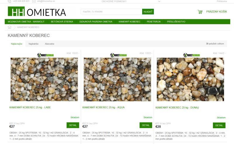 Kde kúpiť kamenný koberec