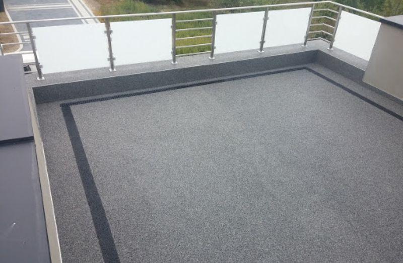 Kamenný koberec na terasu
