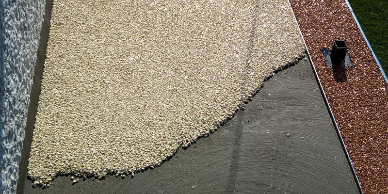 Ako položiť kamenný koberec