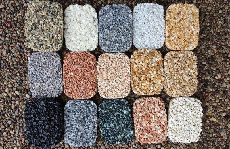 Kamenný koberec vzorkovník