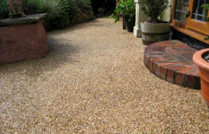 Kamenný koberec spotřeba