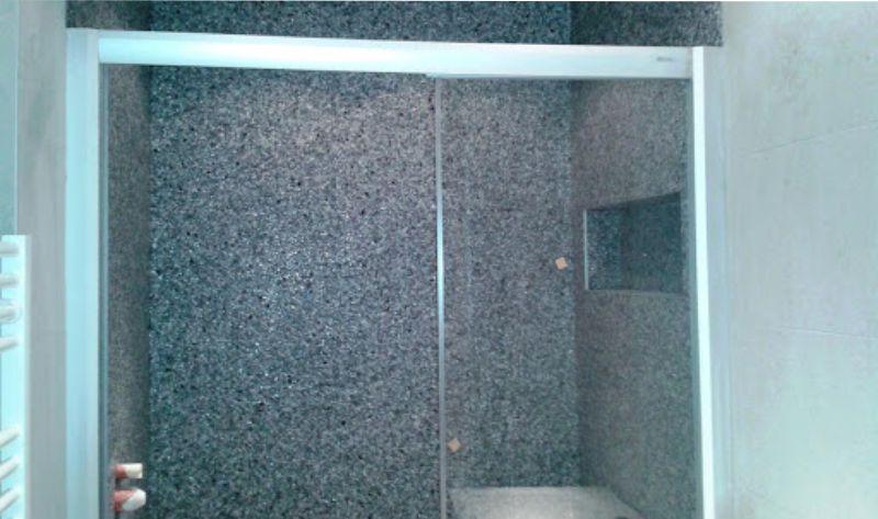 Kamenný koberec na stěnu