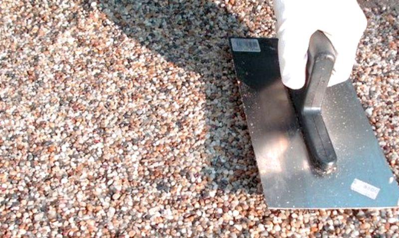 Kamenný koberec svépomocí