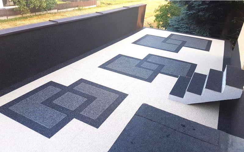 Kamenný koberec údržba