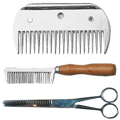 Hřebeny a nůžky
