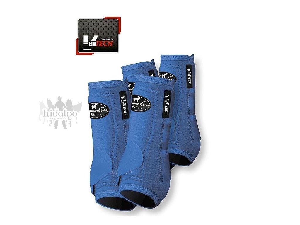 Neoprenové chrániče VenTECH Elite Sports Medicine Boots 4 Pack Royal Blue