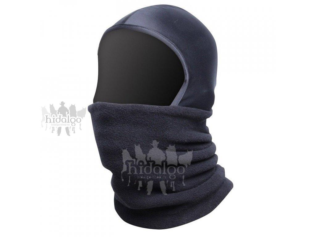 Fleecová čepice přes obličej (maska) Storm