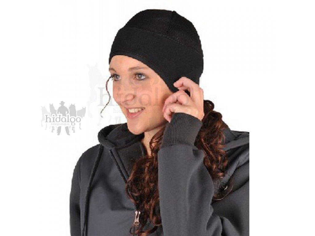 Fleecová čepice pod helmu