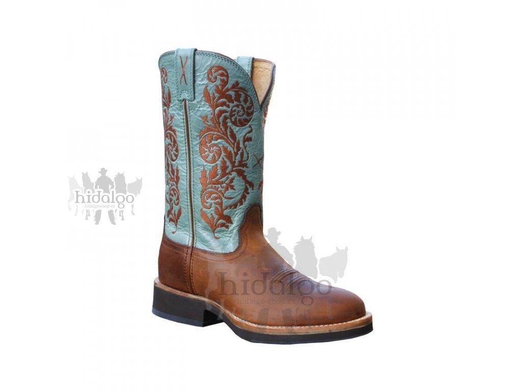 3fbd10cce59 Dámské westernové boty Twisted X Women s Horseman Sky Blue