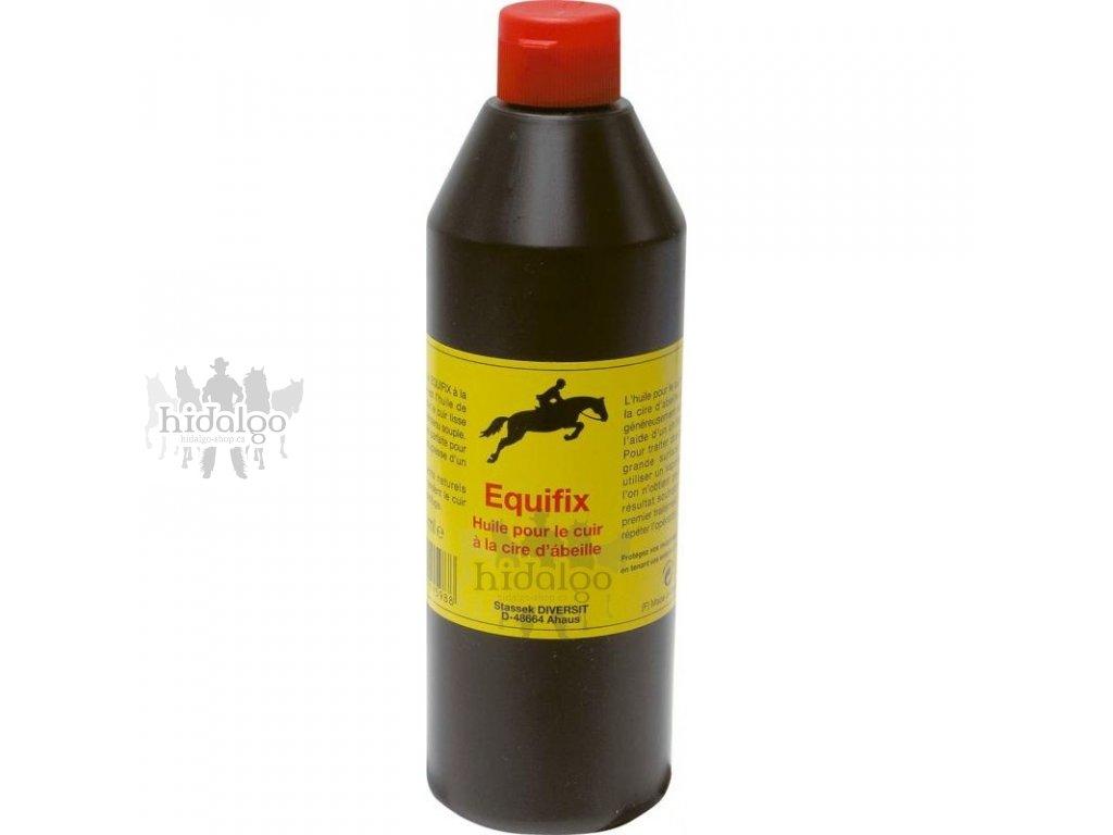 Olej na kůži EQUIFIX se včelím voskem 500ml