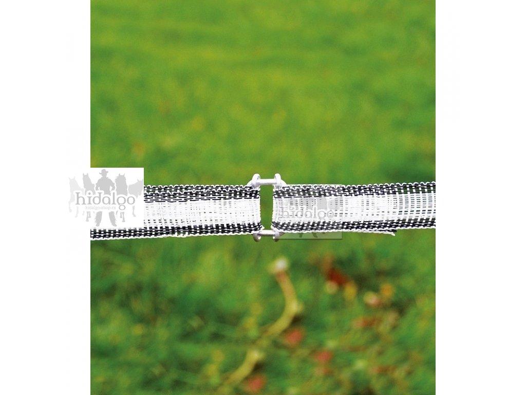 Spojka na ohradníkové pásky
