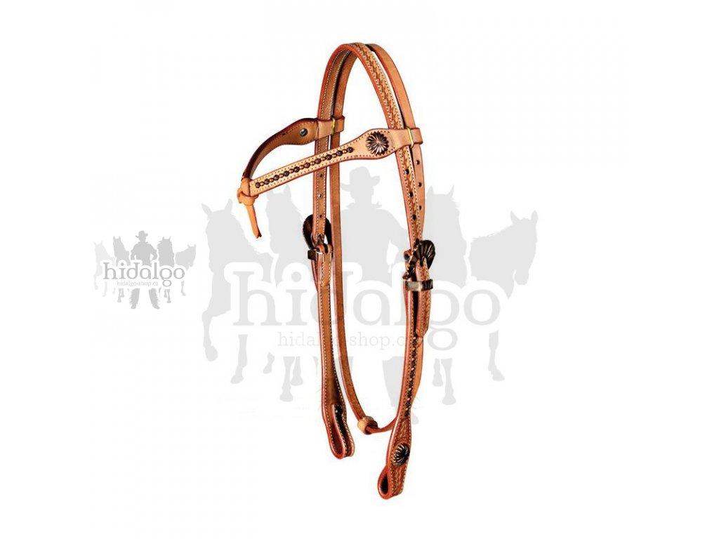 Westernová uzdečka Old Style Harness