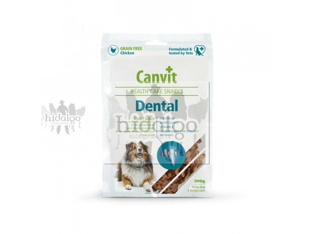 CANVIT Snacks Dental funkční pamlsek 200g