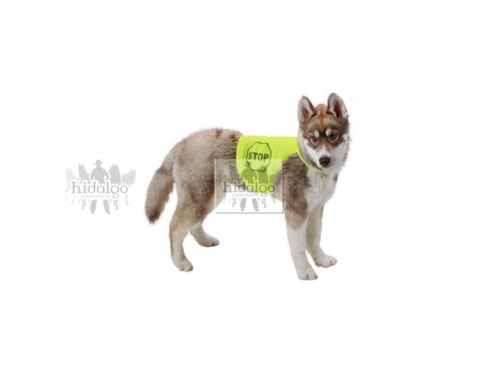 Reflexní vesta SOFT MESH pro psa