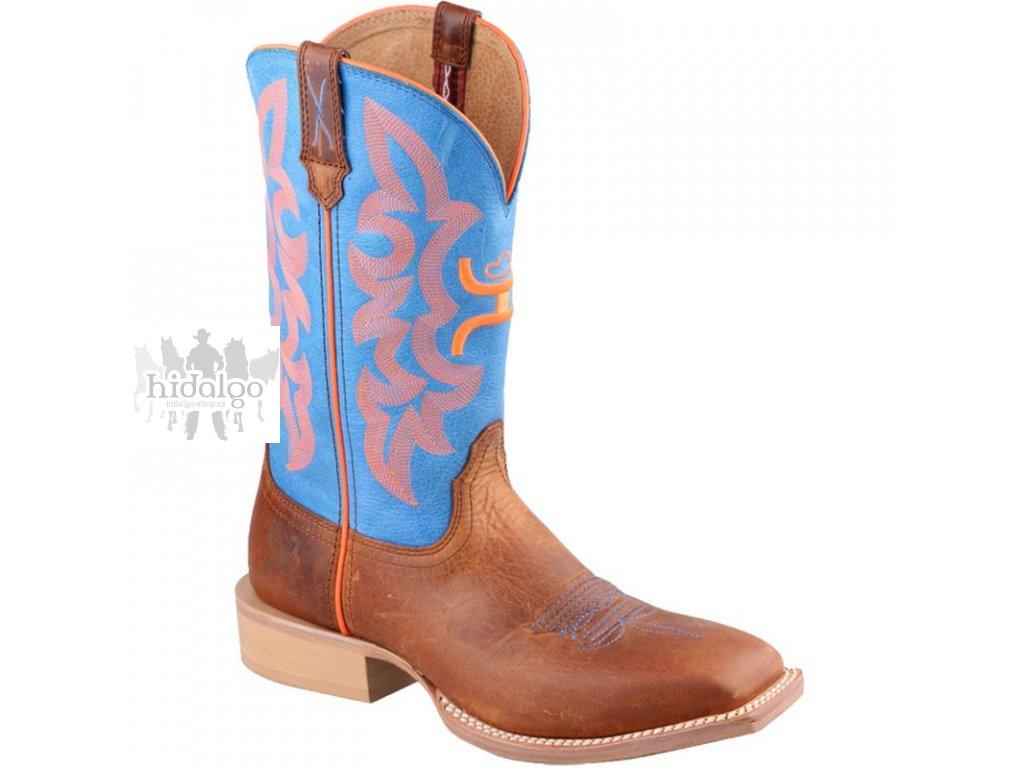 western boot twisted x womens hooey blue